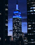 UNICEF Image: United States: Empire State Building honours UNICEF