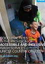 Good practicies in accessible WASH report