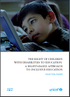 Cover photo of The Right to Education for Children with Disabilities