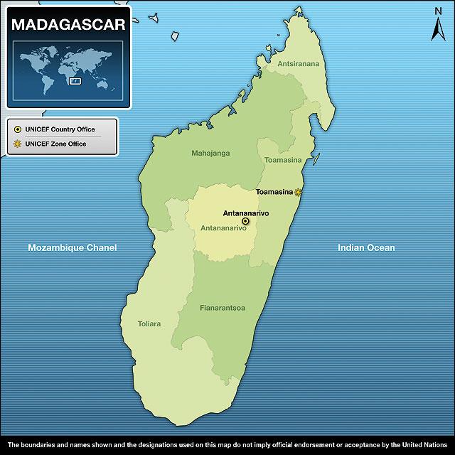 Carte De Madagascar Complet Pdf.Unicef Humanitarian Action Report 2010 Madagascar