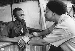 Samora Machel and graca machel