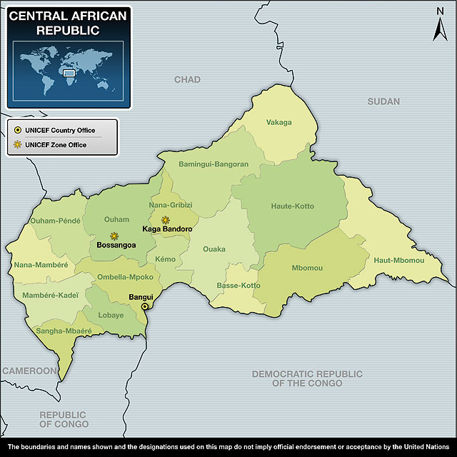 UNICEF Humanitarian Action Report 2010 Central African Republic