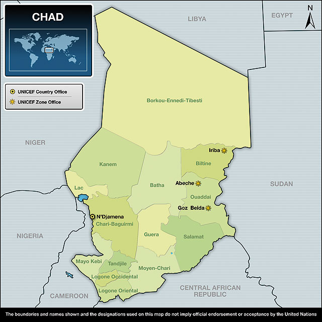 Report on chad africa