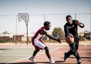 20330c93dfe9 US basketball star Kyrie Irving visits schools in South Africa with ...