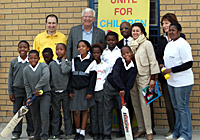 UNICEF Image: South Africa, Malcom Speed, Cricket, HIV/AIDS