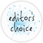 Editor's Choice dandelion graphic